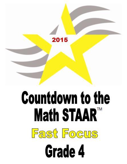 4th Grade STAAR Fast Focus 2015
