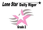 2nd Grade Lone Star Daily Rigor 2013