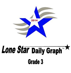 3rd Grade Lone Star Daily Graph 2014