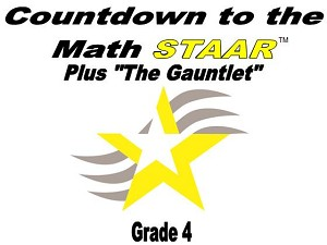 4th Grade Countdown to Math STAAR plus Gauntlet 2018