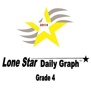 4th Grade Lone Star Daily Graph 2014