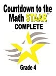 4th Gr Countdown to Math STAAR plus Gauntlet 2018 Complete