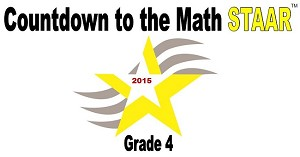 4th Grade Countdown to Math STAAR 2015
