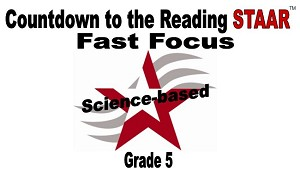 5th Reading Fast Focus - Science Based Updated 2019