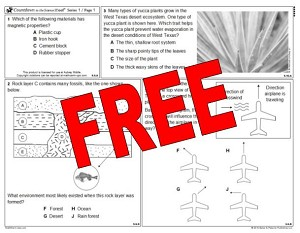 5th Grade Countdown to the Science STAAR 2018 FREE TRIAL