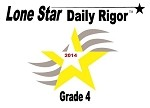 4th Grade Lone Star Daily Rigor 2014