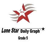 5th Grade Lone Star Daily Graph 2014